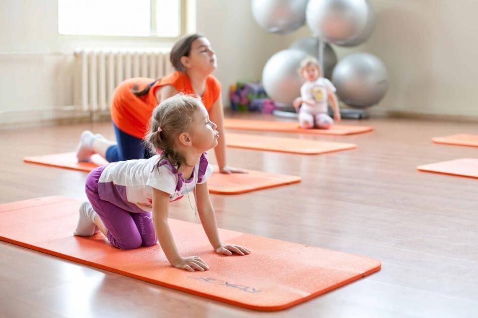 Детский оздоровительный фитнес-микс
